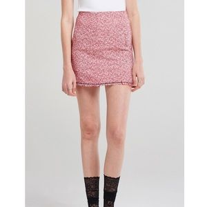 Storets tweed skirt
